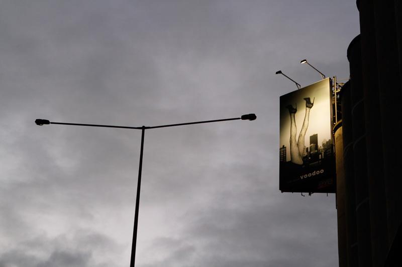 billboard advertising legs high heels