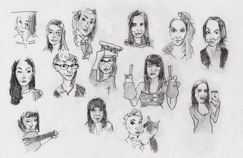 tinder drawings james watkins