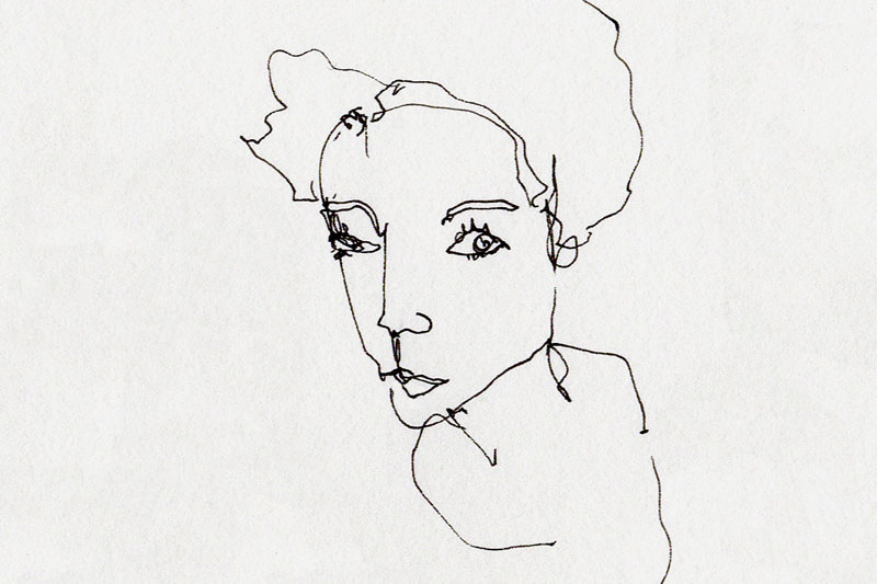 tinder-line-drawing