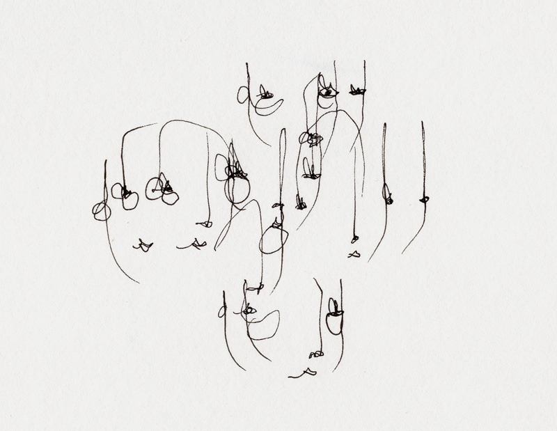 continuous line drawings