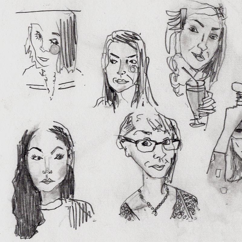 tinder drawing art james watkins02