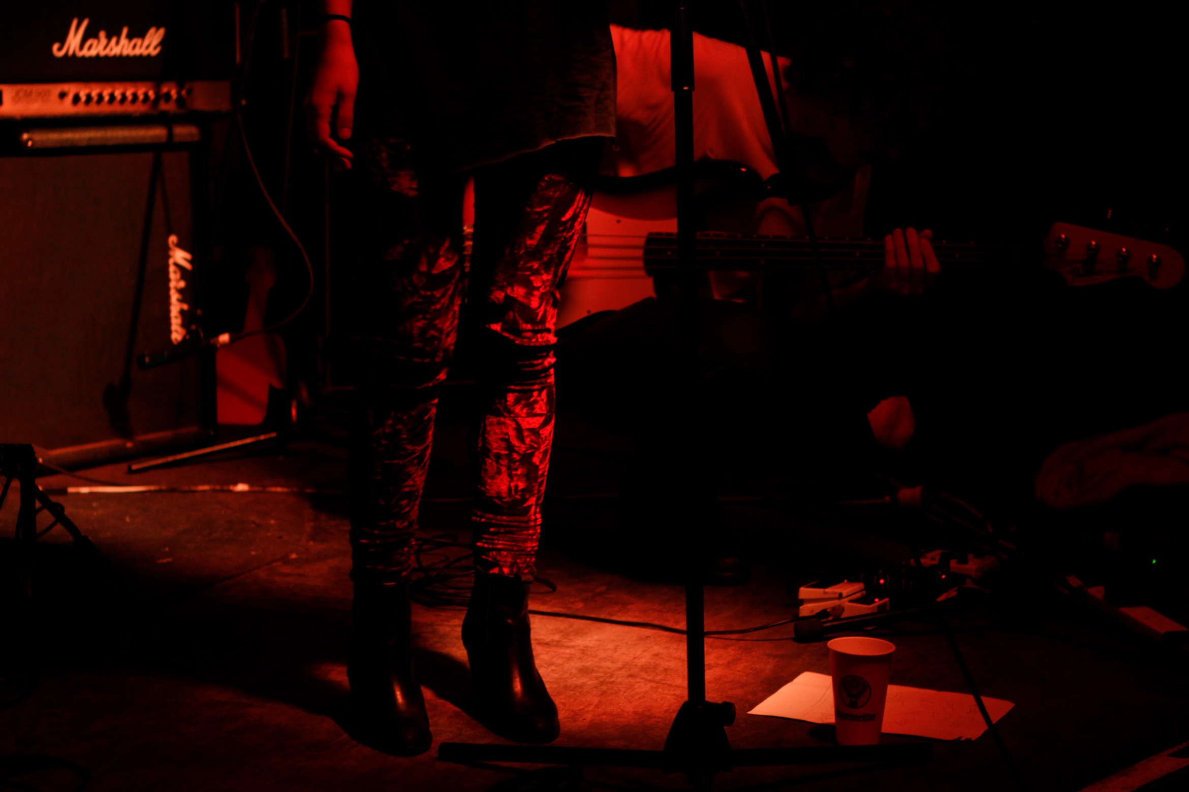 tina-stefanou-cherry-bar-planet-love-sound-melbourne-marshall-amps-crushed-velvet-pants