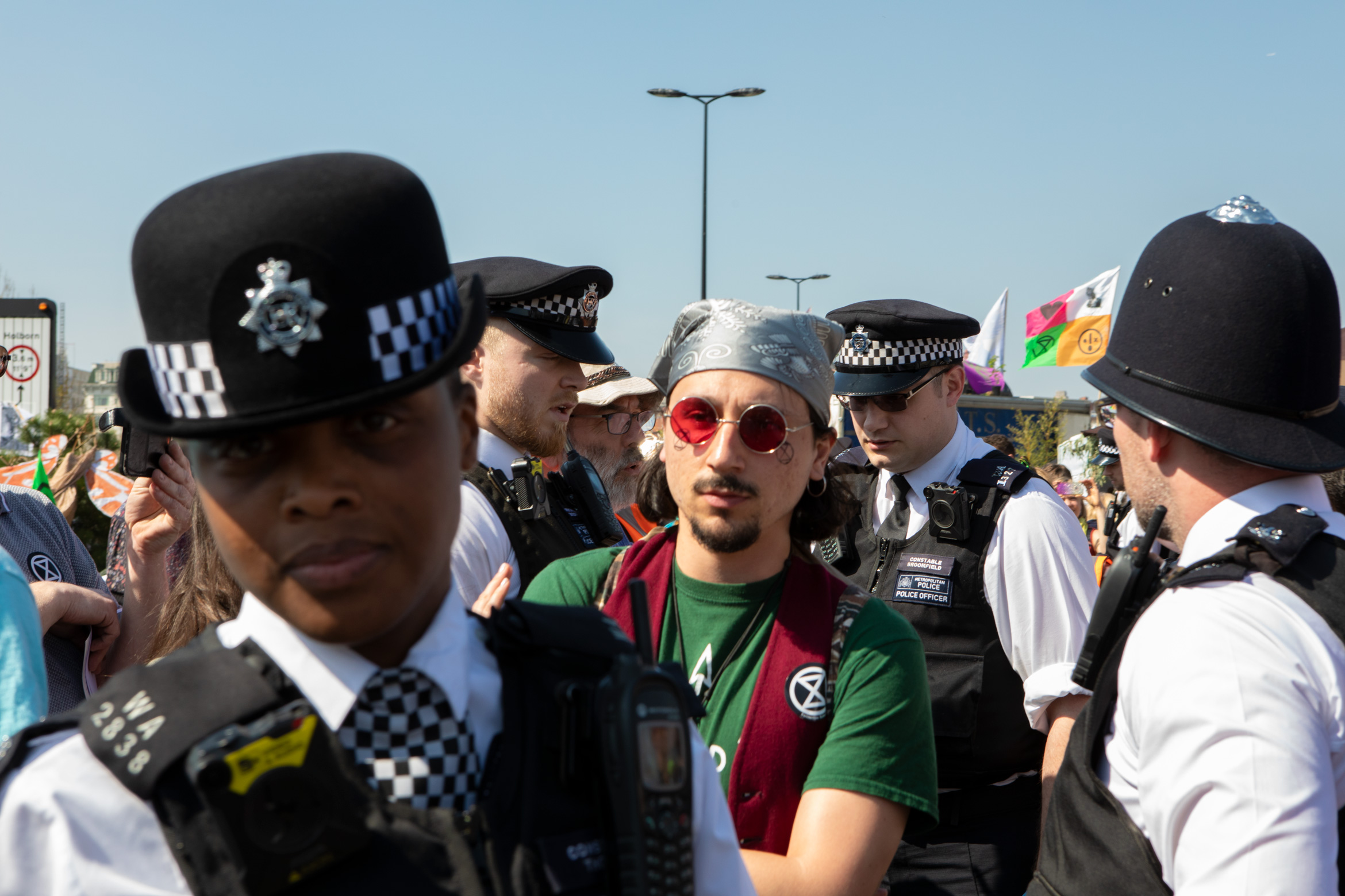 arrests-extinction-rebellion-waterloo